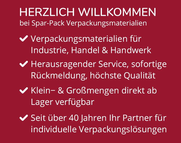 herzlich willkommen bei spar-pack verpackungsmaterialien